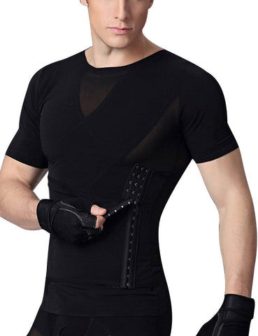 Breathable Cross Stomach Trimmer Top Shaper Pull Back Cellulite Reducing