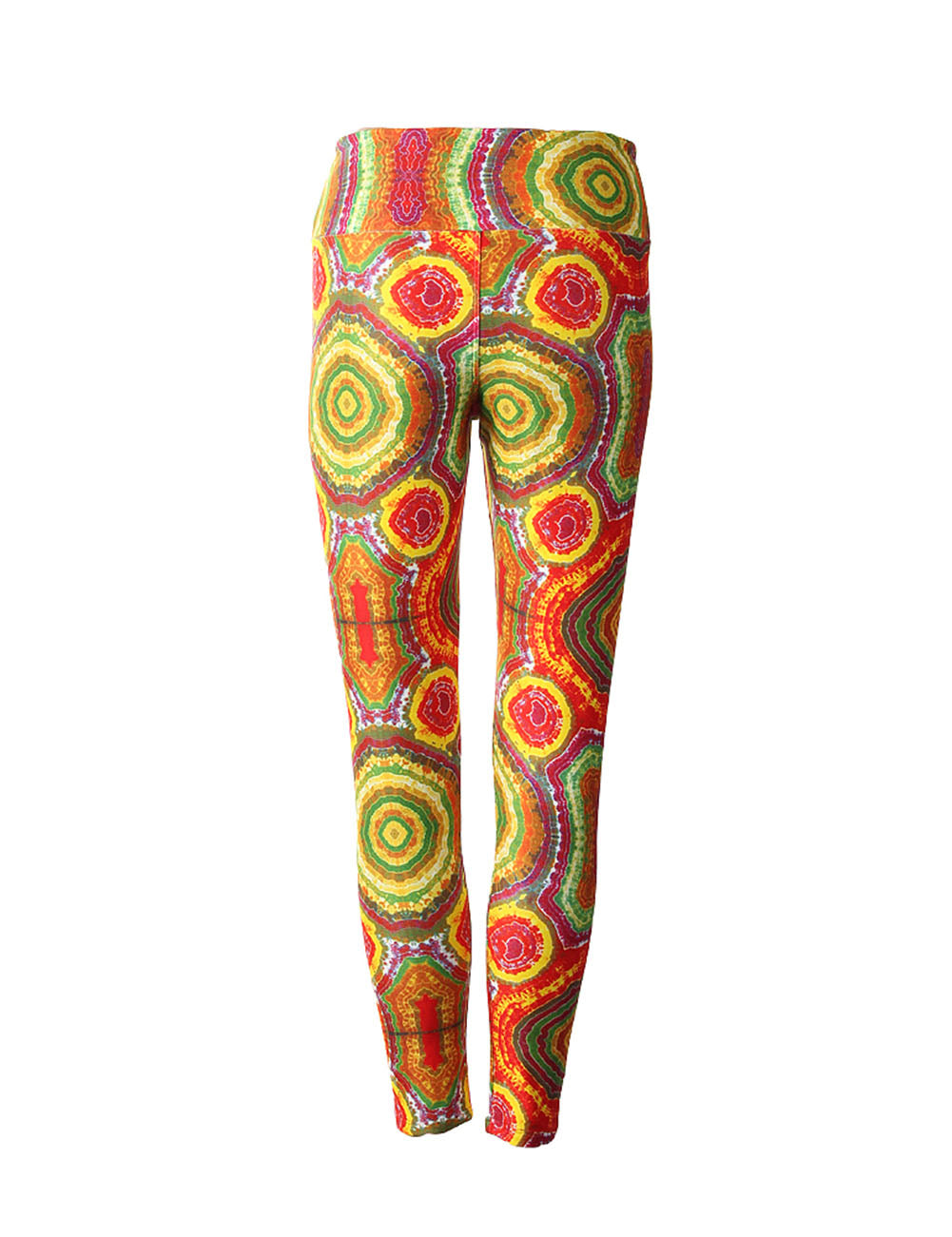 Captivating Flamboyant Kaleidoscopes Pattern Pants Outfit