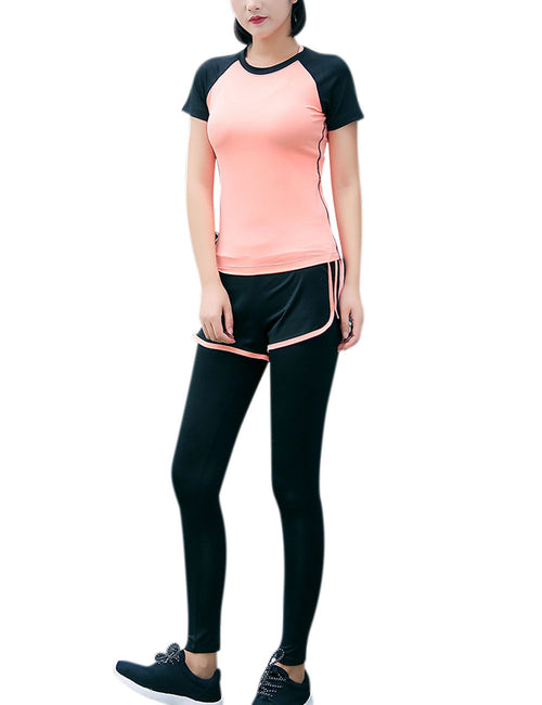Charming 5 Pieces Athletic Suits Women Fashion Style