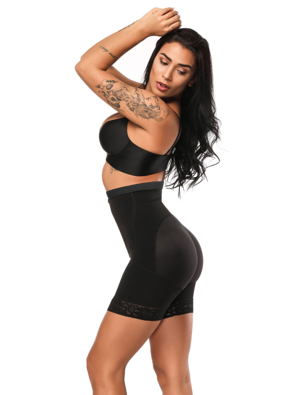 63f1123e30 ... Compression Silhouette Anti-Curl Material Shapewear Butt Enhancer Chic  Online ...