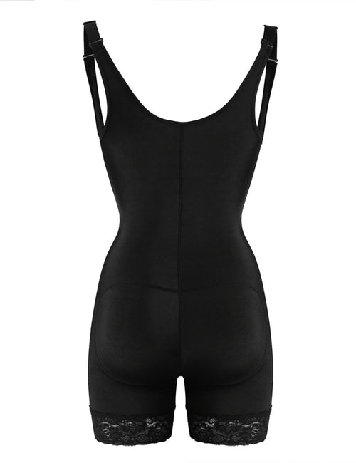 Contour Latex Interlayer Bodysuit Shaper Queen Size Visual Effect