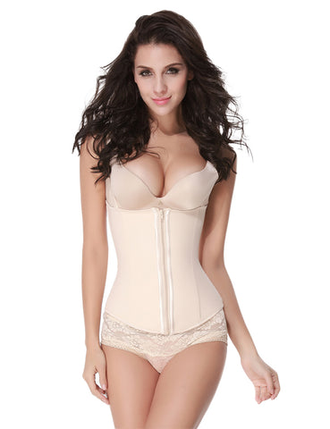 Tight Hook 9 Bones Latex Waist Cincher Corset Shaper Comfort Revolution