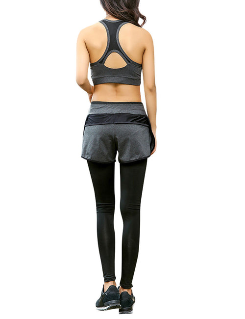 Dazzling Three Pieces Activewear Suits Lightweight