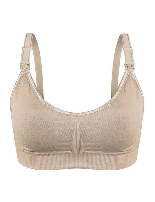 Demure Relaxing Hooks Back Maternity Bra Fashion Style
