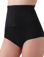 Distinctive Hook Eye Shapewear Brief High Rise Figure Shaping