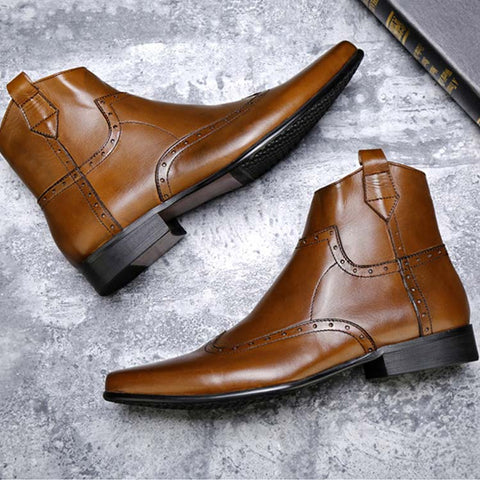 Retro Business Chelsea Boots