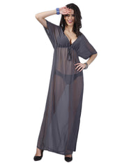 Enthralling Maxi Beach Dress Adjustable Belt Feminine Grace