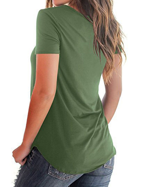 Enthusiastic Side Split Shirts Cross Straps Full Back For Hanging Out