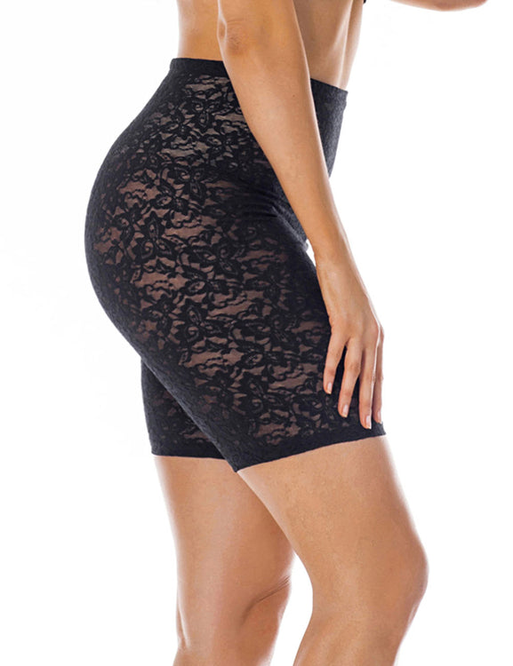 6594b560a9d Exclusive Lace Tummy Boyshort Shaper Butt Lift Hourglass