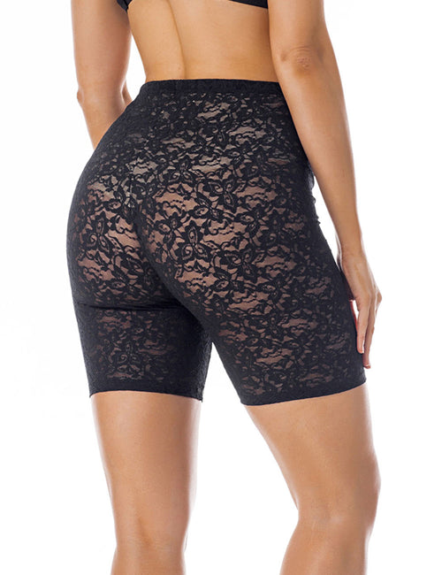 Exclusive Lace Tummy Boyshort Shaper Butt Lift Hourglass