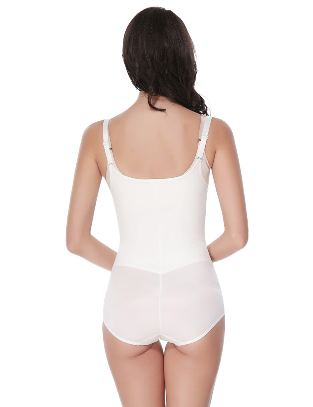 Fabulous Fit Hook Eyes Underbust White Body Shaping Corset Super Sexy