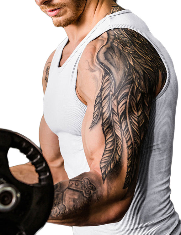 Fabulous Fit Seamless Belly Slimming Vest Male Posture Correct