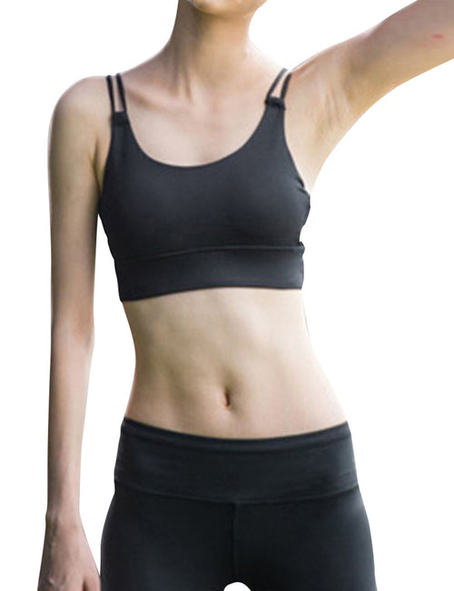 Flawlessly Removable Padded Activewear Bra Workout Clothes