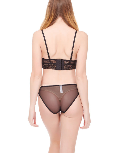 Frivolous Matching Underwear Suit Half Cups Super Soft