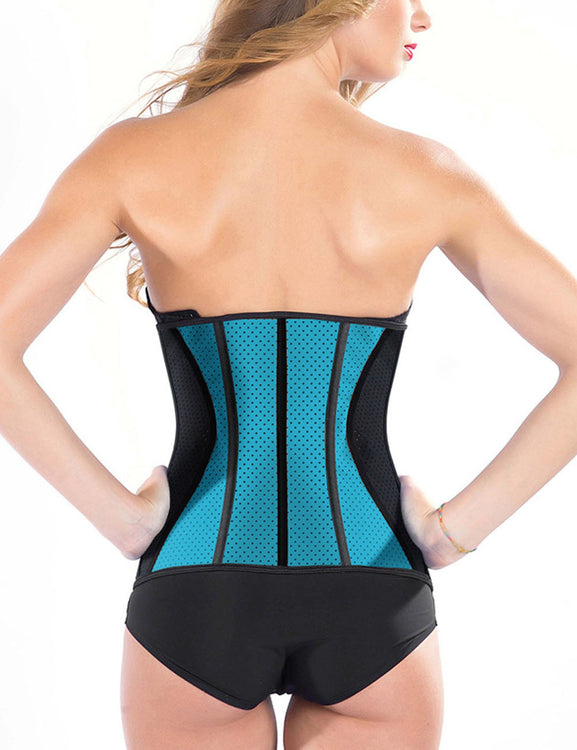 Glam 9 Bones Latex Waist Trimmer With Hooks Visual Effect