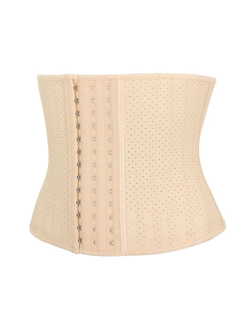 Impeccable Plus Size Latex Eyelet Wasit Shaper 25 Steel Bones Tailored Shape