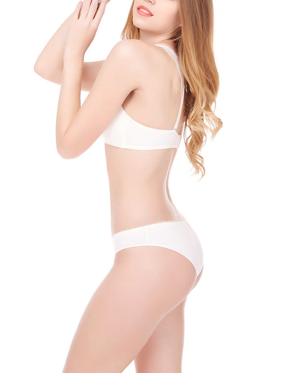 Incredibe Lace Underwear Set Back Closure Bowknot Fashion Online For Cutie