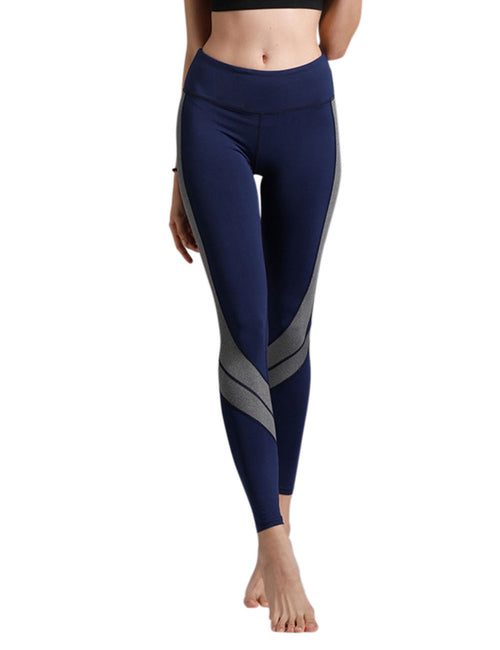 Inspired Patchwork Sports Pants Feminine