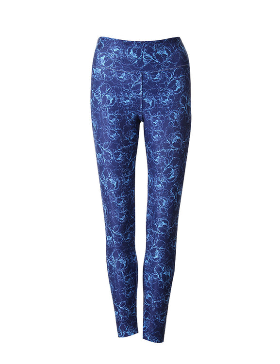 Irresistible Floral Patterns Leggings For Female