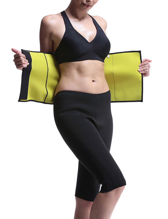 Irresistibly Queen Size Neoprene Workout Waist Trimmer Underwear