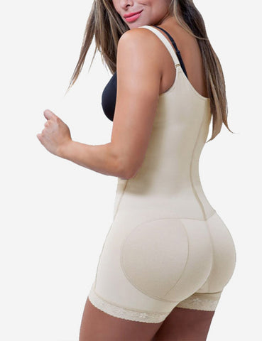 Smooth Silhouette Comfort Zipper Hook Latex Waist Shaper