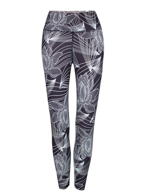 Lovable Digital Printing Long Fitness Leggings Fashion Style