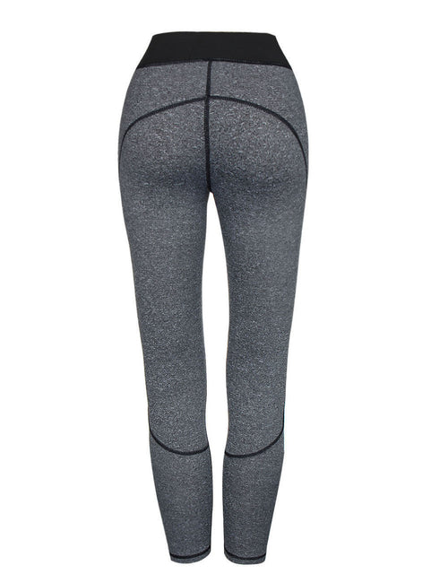 Luxirious Mesh Patchwork Long Workout Tights Stretch