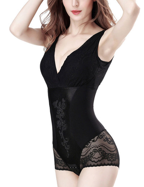 Power Slim Detachable Deep V Neck Shapewear Intant Shaping