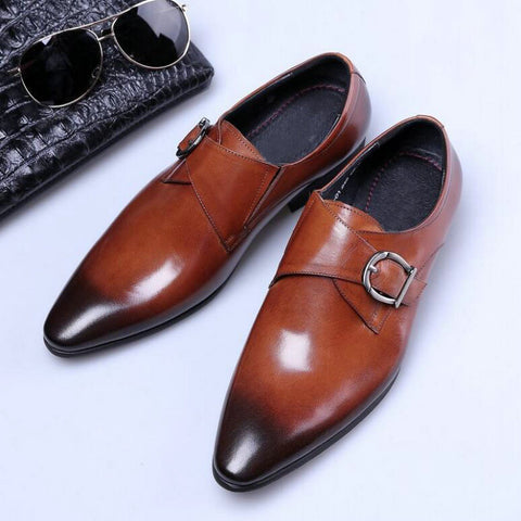 New Casual Low-top Pointed Men's Shoes