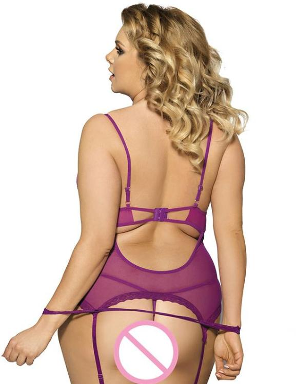 50e0df722 Dress And G String Teddy With Handcuff Lingerie