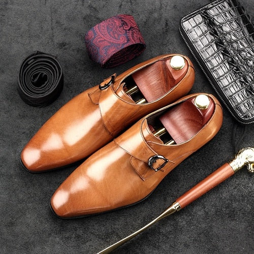 Oxfords Pointed Toe Formal Shoes