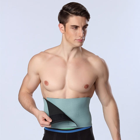 Waist Trainer Men Body Modeling Belt Health Shaper