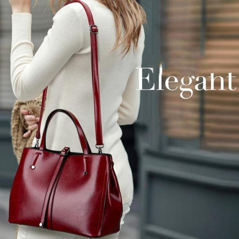 Fashion Shopping Shoulder Bag Zipper Closure
