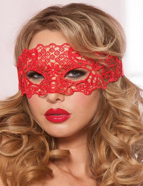 Hollow Lace Cosplay Party Masks