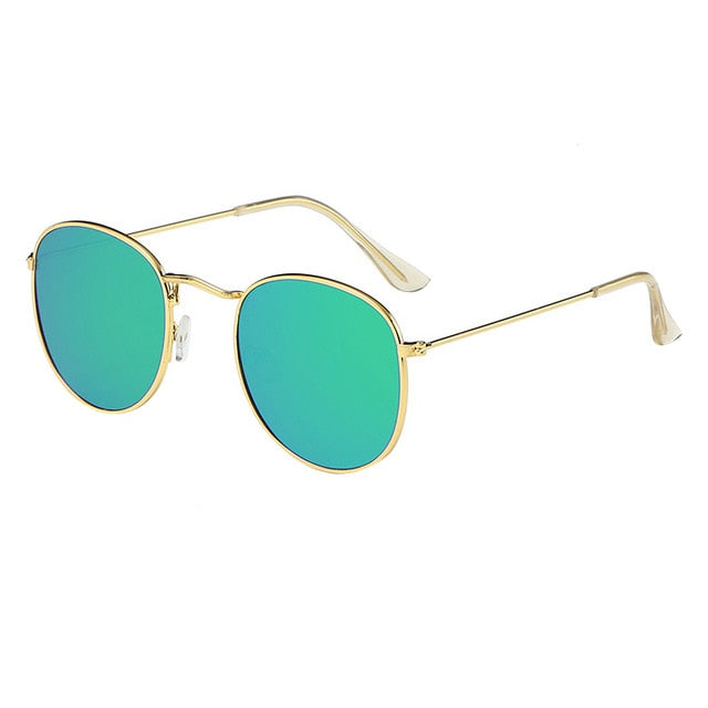Luxury Vintage Women Sunglasses Alloy Frames