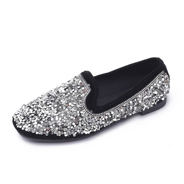 Top Quality Women Bling Flats