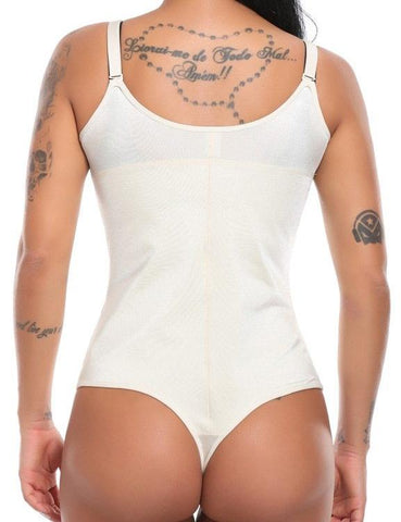 Smooth Latex Full Body Shaper Waist Trainer Shapewear