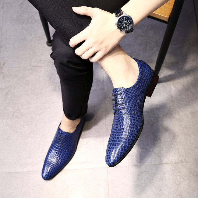 Handmade Breathable Comfortable Flat Formal Shoes