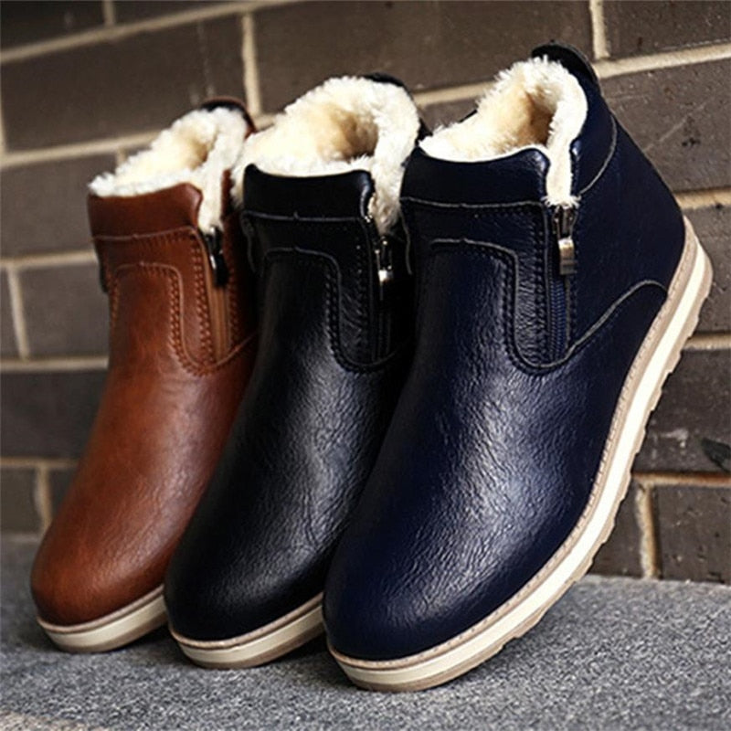 Casual Plush Warm Boots