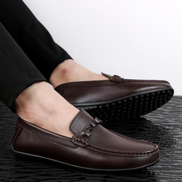 Loosesize Men Leather Loafer
