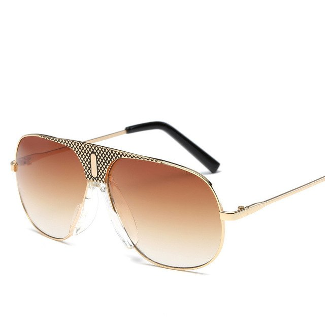 Retro Pilot Sunglasses  For Men
