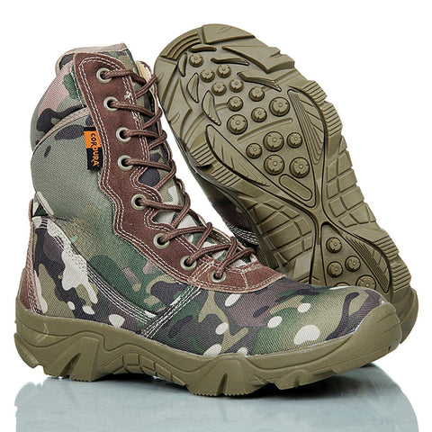 Military Tactical Waterproof Camping Trekking Boots