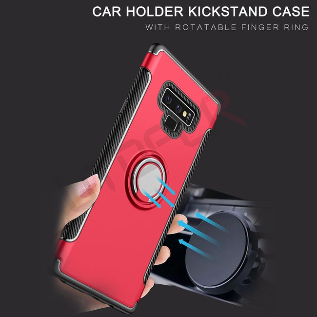 3D Ring Magnetic Samsung Galaxy Note 9 Case