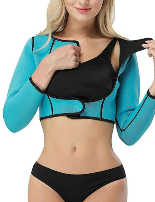 Push Up Long Sleeve Slimming Control Arm Shapewear