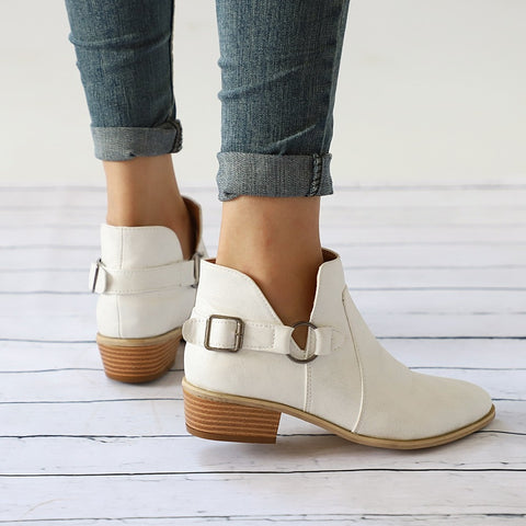 Pointed Toe Martin Boots