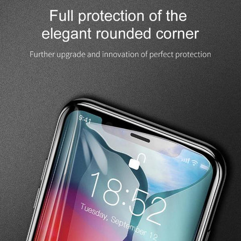 0.3mm Full Coverage Curved Tempered Glass For iPhone XR XS