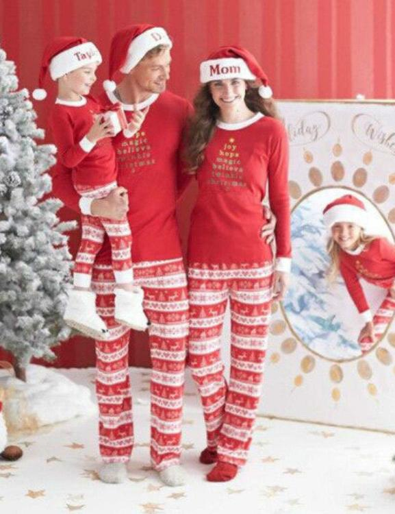 Loosesize Christmas Family Pajama
