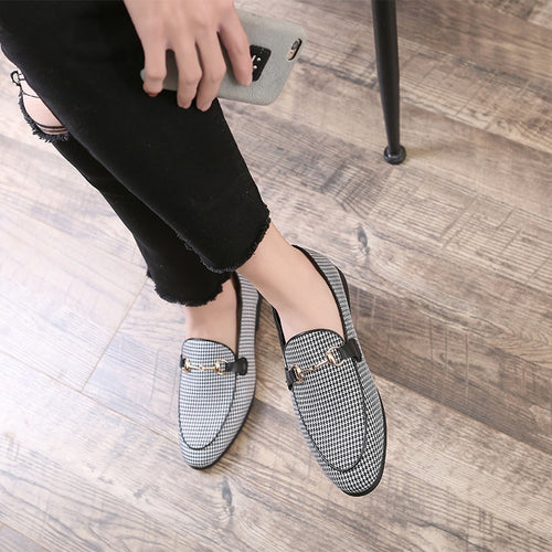 Loosesize Casual Men Loafers