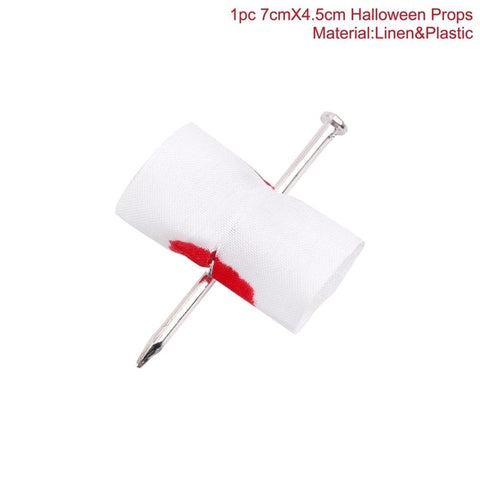 Horror Knife Bloody Machete Halloween Headband Props