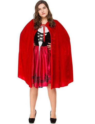 Plus Size Little Red Riding Halloween Costumes